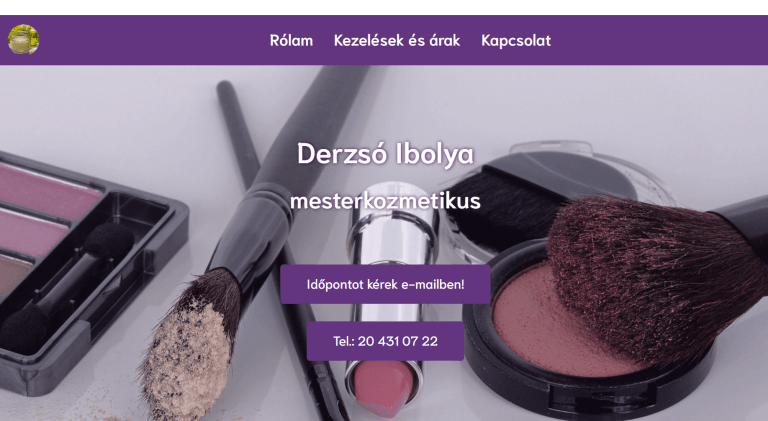 Weboldal referenciák - charmekozmetika.hu III